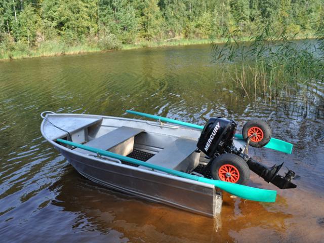 лодка алюминиевая с мотором купить в екатеринбурге